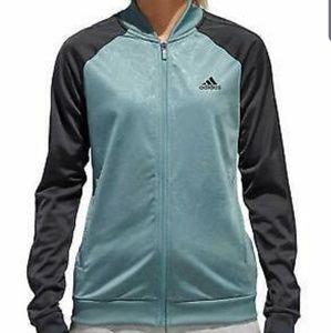 Adidas   Climalite Embossed Print Track Jacket